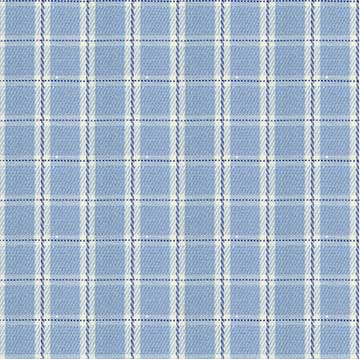 White Blue Checkered